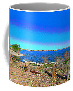 Lake Pueblo Painted Coffee Mug