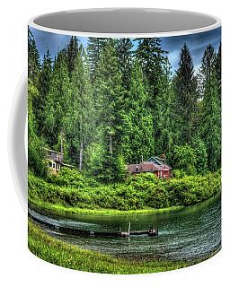 Lake Quinault 3 Coffee Mug by Richard J Cassato