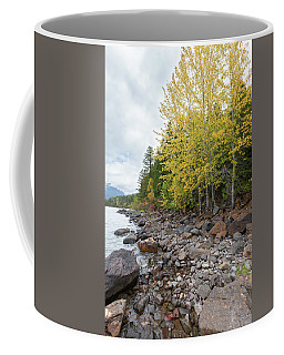 Coffee Mug featuring the photograph Lake Shore by Fran Riley