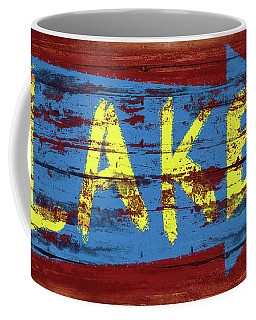 Lake Sign Coffee Mug