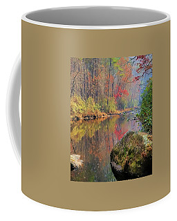 Coffee Mug featuring the painting Chattooga Paradise by Steven Richardson
