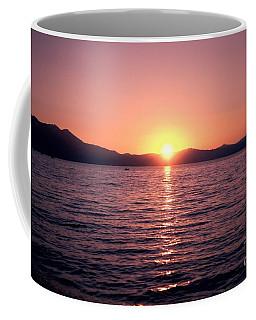 Lake Sunset 8pm Coffee Mug
