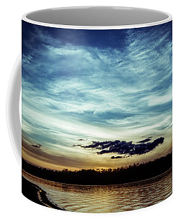 Lake Sunset Coffee Mug by Scott Meyer