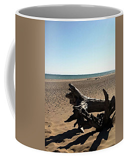 Lake Superior Driftwood Coffee Mug