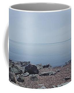Lake Superior Shore In Duluth, Minnesota  Coffee Mug