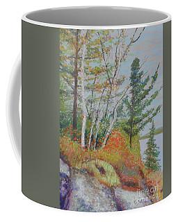 Lake Susie In Fall Coffee Mug by Rae  Smith  PAC