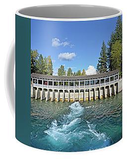 Lake Tahoe Dam Coffee Mug