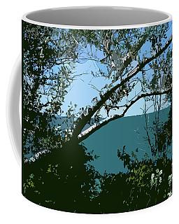 Lake Through The Trees Coffee Mug