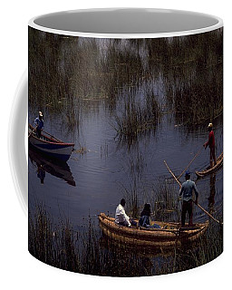 Lake Titicaca Reed Boats Coffee Mug
