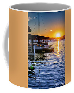 Coffee Mug featuring the photograph Lake Travis by Walt Foegelle