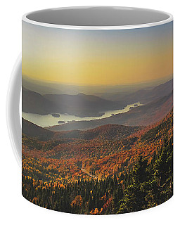 Lake Tremblant At Sunset Coffee Mug