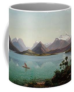 Lake Wakatipu With Mount Earnslaw. Middle Island New Zealand Coffee Mug