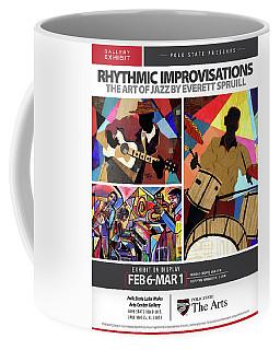 Rhythmic Improvisations - The Art Of Jazz Coffee Mug
