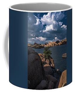 Coffee Mug featuring the photograph Lake Watson Prescott Arizona 2498 by David Haskett
