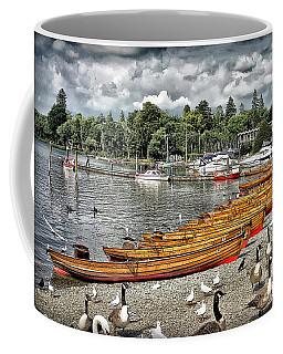 Coffee Mug featuring the photograph Lake Windamere by Walt Foegelle