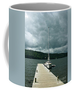 Lake Windermere Coffee Mug by Mini Arora