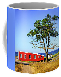Coffee Mug featuring the photograph Lakefront In Glen Arbor by Alexey Stiop