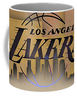 Lakers Skyline Coffee Mug