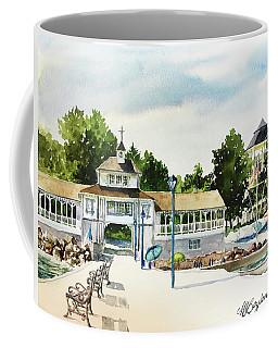 Lakeside Dock And Pavilion Coffee Mug