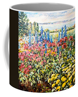 Lakeside Garden Coffee Mug by Alexandra Maria Ethlyn Cheshire