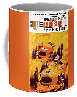 Lakeside Racing Coffee Mug by Gary Grayson