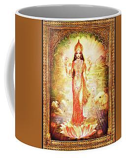 Lakshmi Goddess Of Fortune With Lighter Frame Coffee Mug