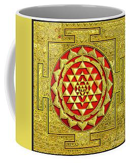 Lakshmi Kubera Yantra Coffee Mug