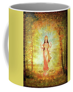 Lakshmi Vision In The Forest  Coffee Mug