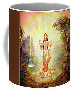 Lakshmi With The Waterfall Coffee Mug