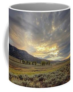 Lamar Valley Sunset Coffee Mug