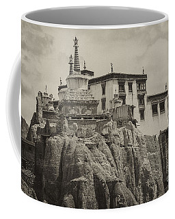 Lamayuru Monastery Coffee Mug by Hitendra SINKAR