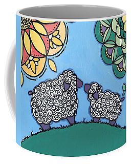 Lamb And Mama Sheep Coffee Mug