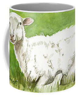 Lamb In Spring Coffee Mug