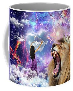 Coffee Mug featuring the digital art Lamb Of God by Dolores Develde