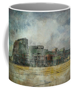 Lambeau Field Watercolor Coffee Mug
