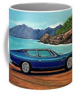 Lamborghini Espada 1968 Painting Coffee Mug
