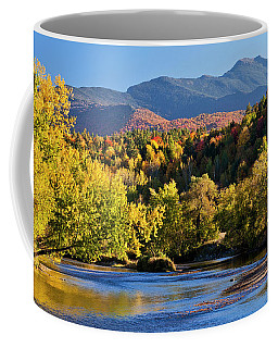 Lamoille River Autumn View Coffee Mug