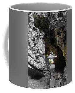 Lamp In Marble Mountain Coffee Mug