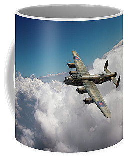 Lancaster Kb799 Above Clouds Coffee Mug