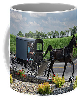 Lancaster Travel Coffee Mug by Tricia Marchlik