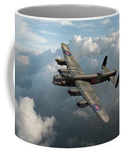 Lancaster W5005 Ar-l Leader Above Clouds Coffee Mug