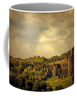 Coffee Mug featuring the photograph Lancing College by Chris Lord