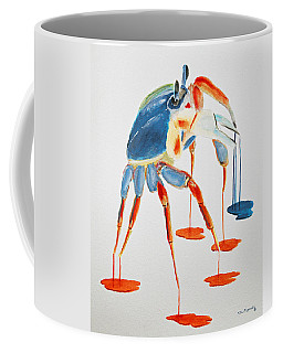 Land Crab Fight Stance Coffee Mug