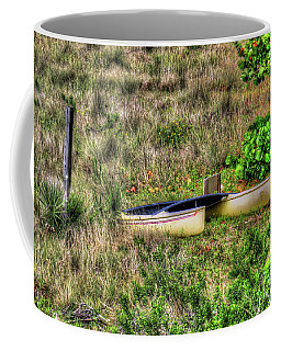 Coffee Mug featuring the photograph Land Locked by Tom Prendergast