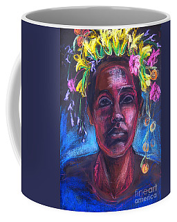 Coffee Mug featuring the drawing Land Of Plenty by Gabrielle Wilson-Sealy
