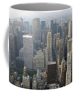 Land Of Skyscapers Coffee Mug by Aaron Martens