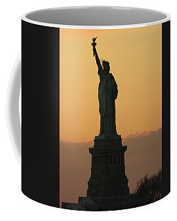 Coffee Mug featuring the photograph Land Of The Free And The Brave by Emmy Marie Vickers