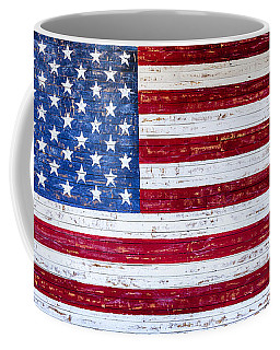 Land Of The Free Coffee Mug by David Millenheft
