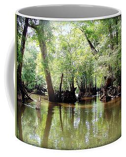 Land Of The Lost Coffee Mug by Debra Forand