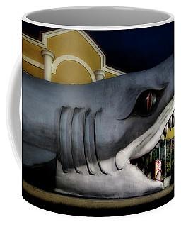 Land Shark At The Beach Towel Shop Coffee Mug